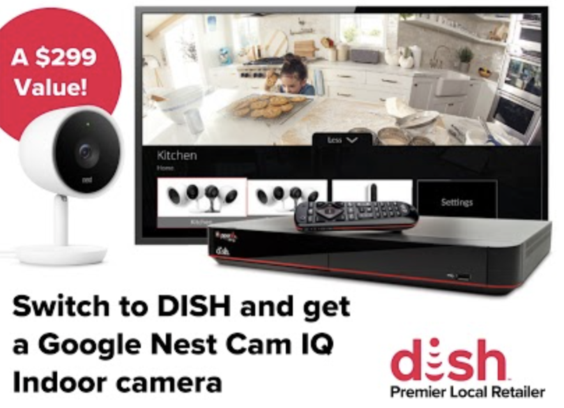 Get a free nest IQ indoor camera! Valid till July 14th from MICROCOM