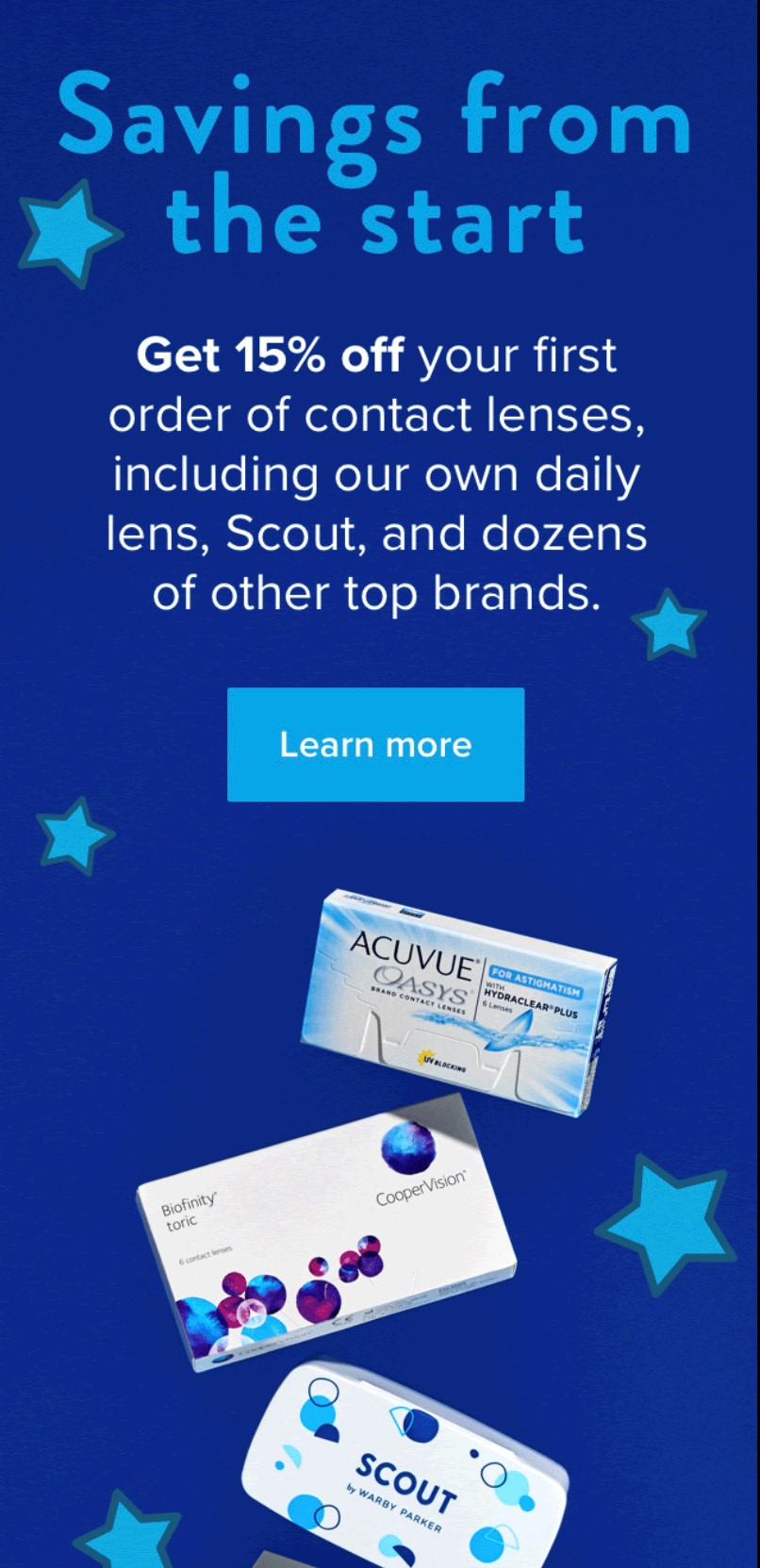 Summer Savings on Contacts