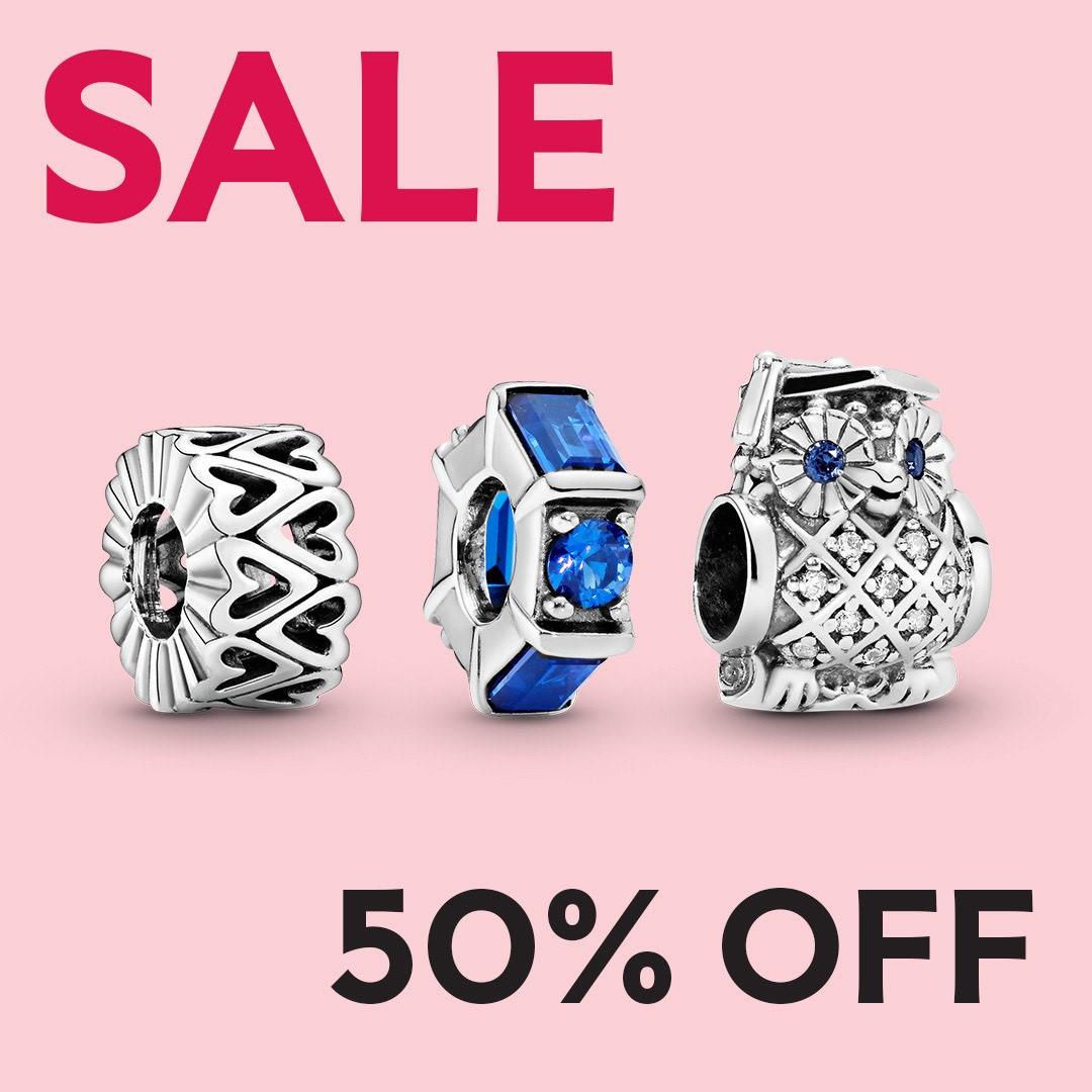 Pandora 50% Off Sale from PANDORA