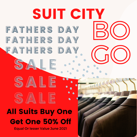 Father's Day Sale from Suit City