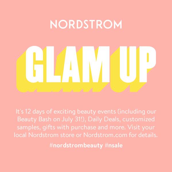 Anniversary Glam Up Event