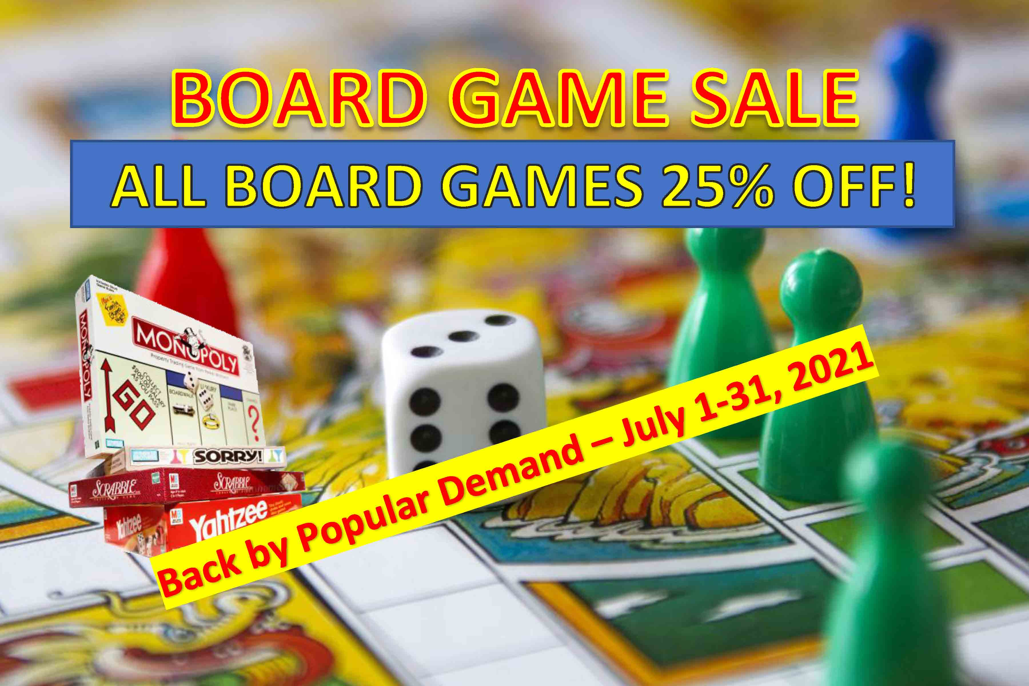 Board Game Sale from Optimus Toys