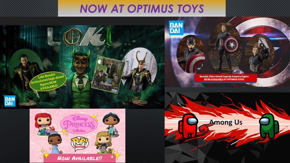 Now Available from Optimus Toys