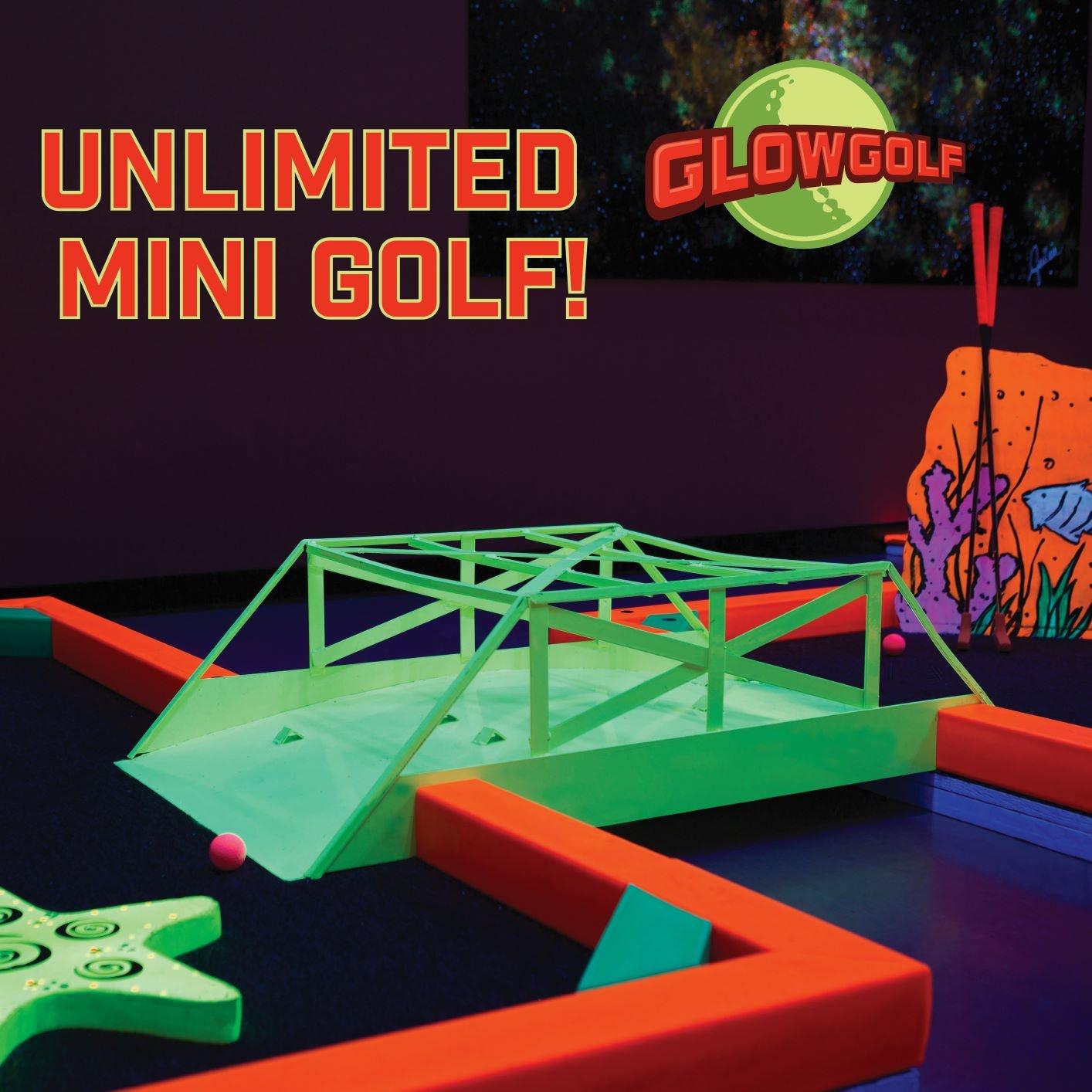 Unlimited Mini Golf from Glowgolf