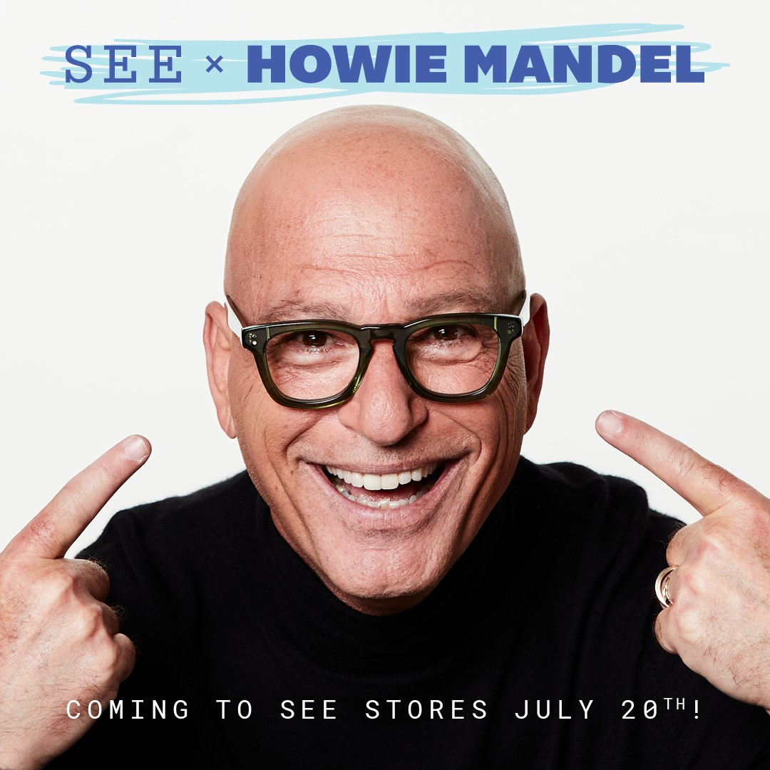 SEE x Howie Mandel collection!