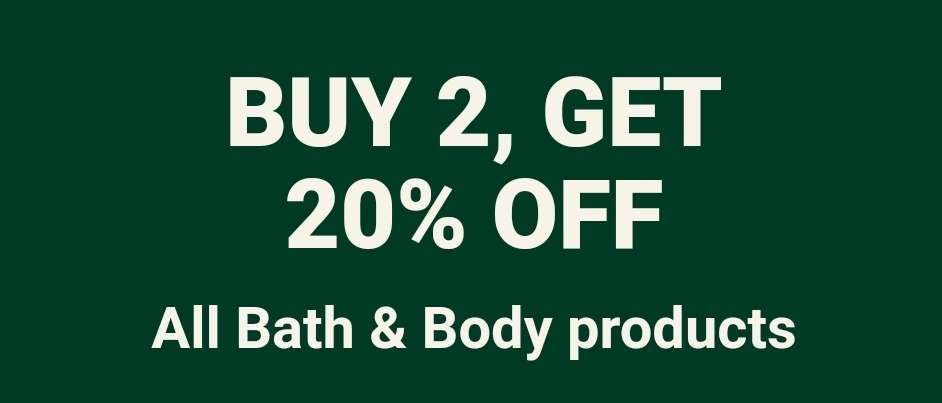 Buy 2 or More BodyCare & Save 20% off from The Body Shop