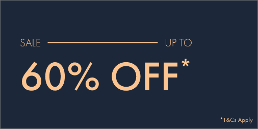 Enjoy up to 60% off from Ted Baker London