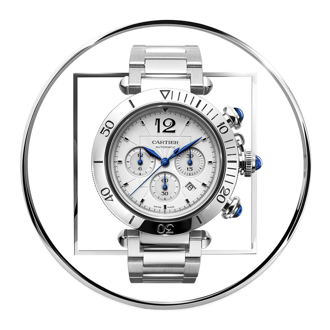 Pasha de Cartier Chronograph from Cartier