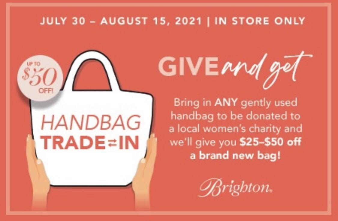 Handbag Trade-In Event