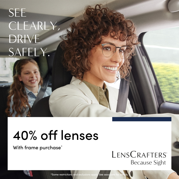 See Clearly, drive safely from LensCrafters