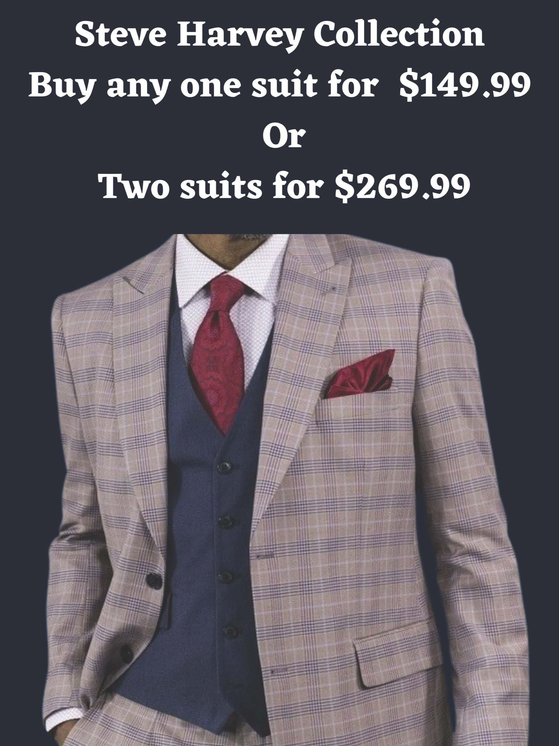 Steve Harvey Collection from Suit City