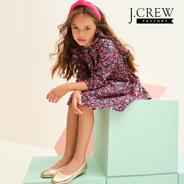 UP TO 50% OFF STOREWIDE + ALL MEN'S & WOMEN'S JEANS JUST $44.95 AT J.CREW FACTORY! from J.Crew Factory