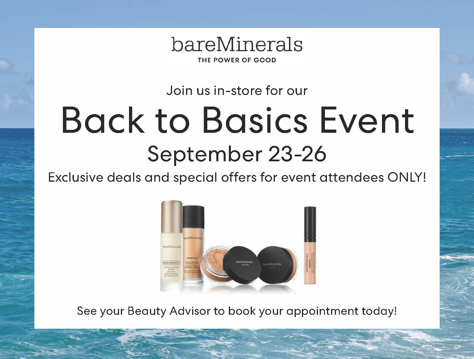 Back to Basics from bareMinerals