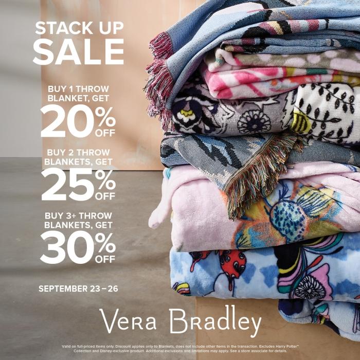 Fan Favorite Blankets from Vera Bradley