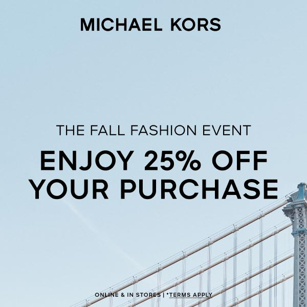 The Fall Fashion Event from Michael Kors