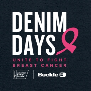 This October, unite with Buckle and the American Cancer Society in the fight against breast cancer.