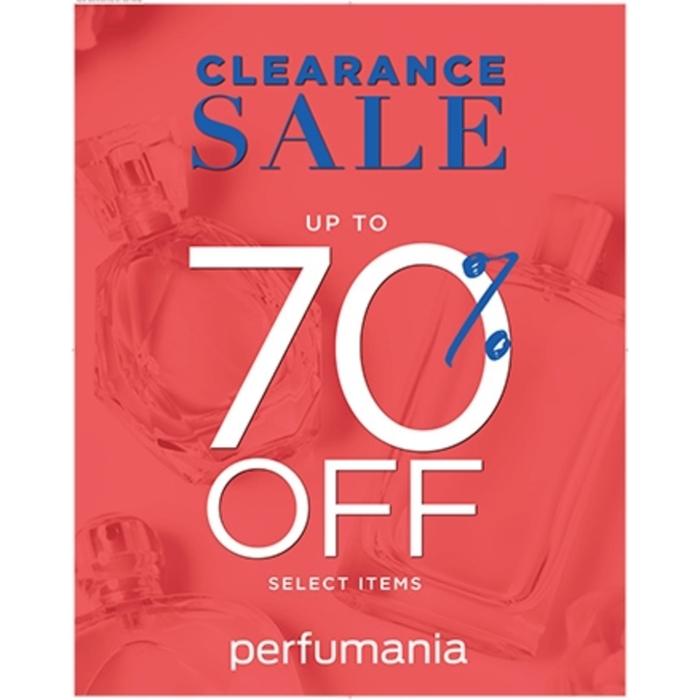Clearance Sale at Perfumania from Perfumania