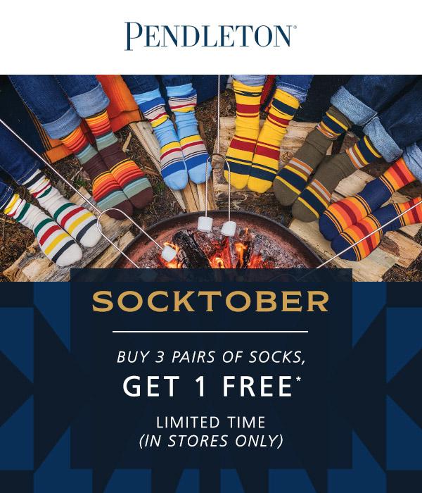 Pendleton Socktober! from Pendleton