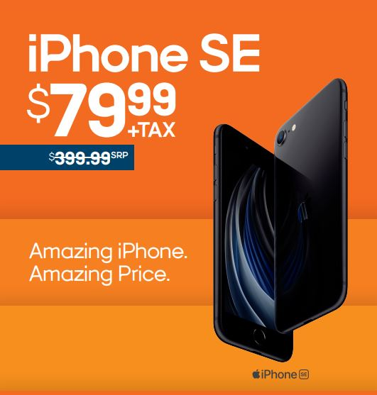 iPhone SE for $79.99 from Boost Mobile
