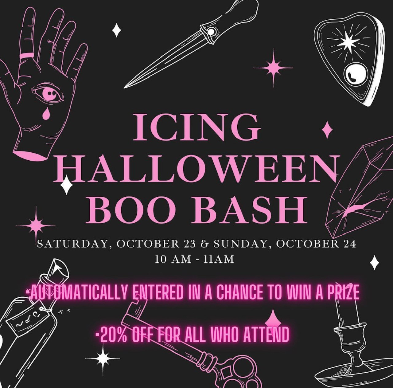 BOO BASH from ICING
