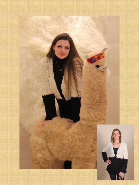 The LELA Sweater from Sheepskin & Alpaca Specialties