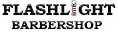 Flashlight Barber Shop                   Logo
