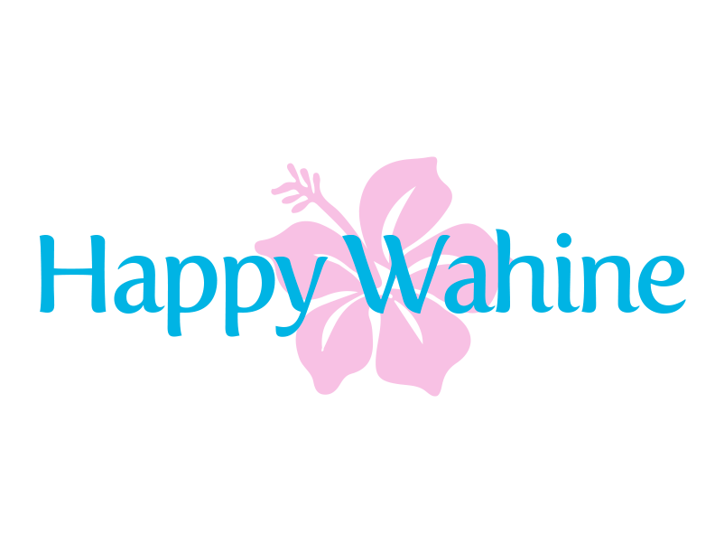 해피 와히네 부티크 (Happy Wahine Boutique) Logo