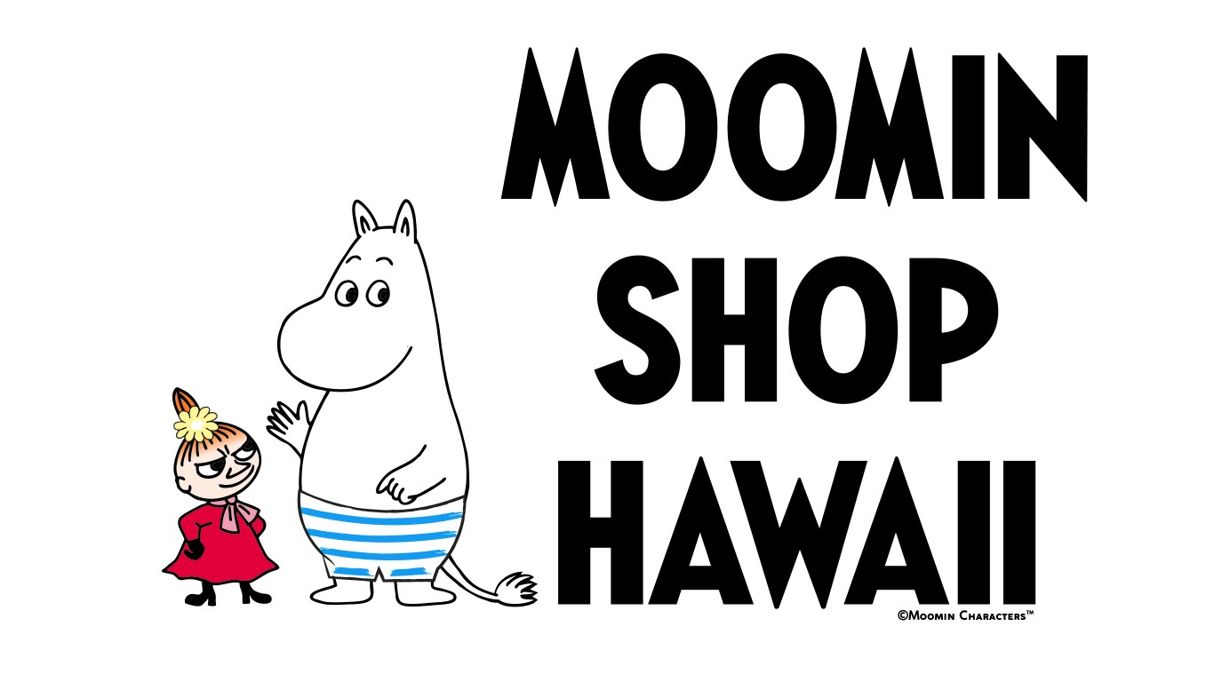 Moomin Shop Hawaii                       Logo