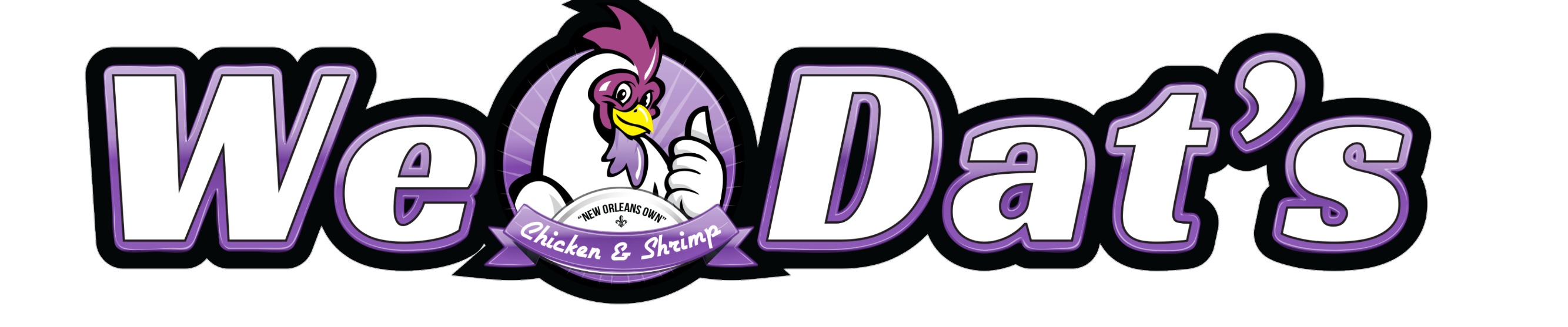 We Dat's Chicken & Shrimp                Logo