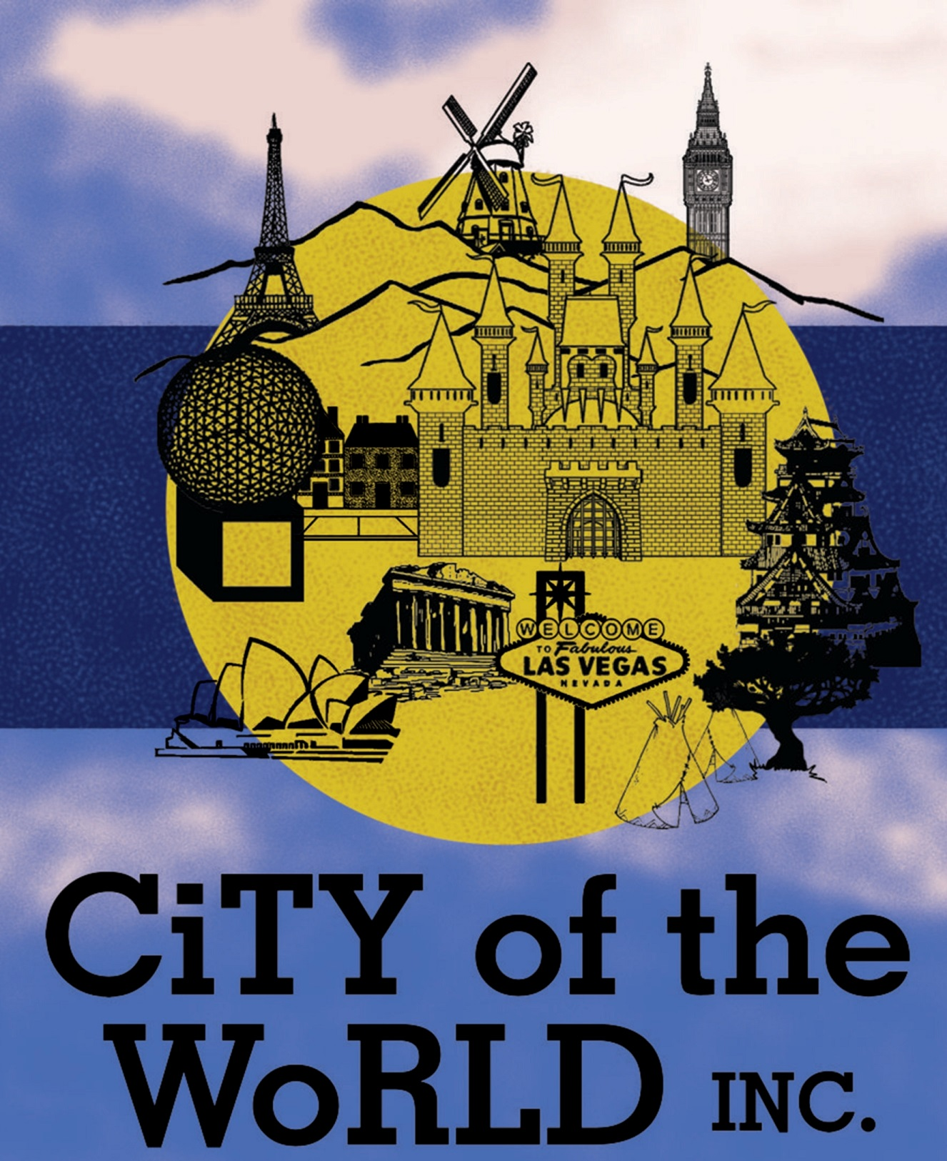 City Of The World                        Logo