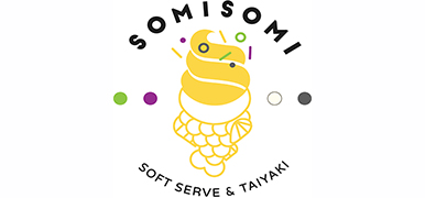 Somisomi Soft Serve & Taiyaki Logo