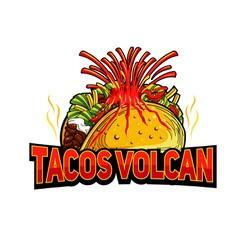 Taco's Volcan Logo