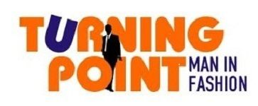 Turning Point Man In Fashion             Logo