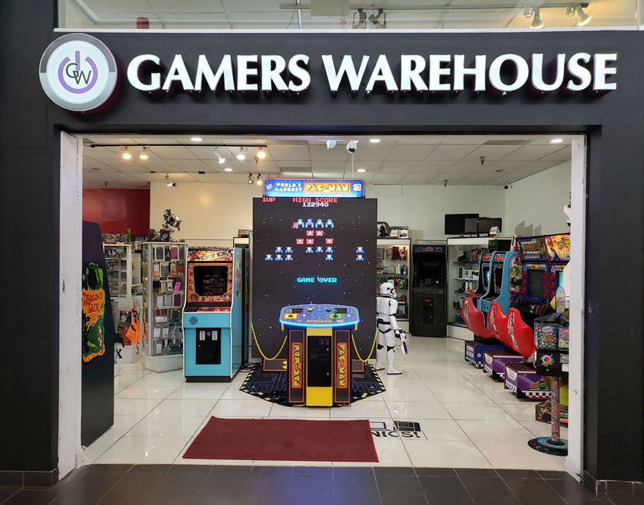 Gamers Warehouse Logo
