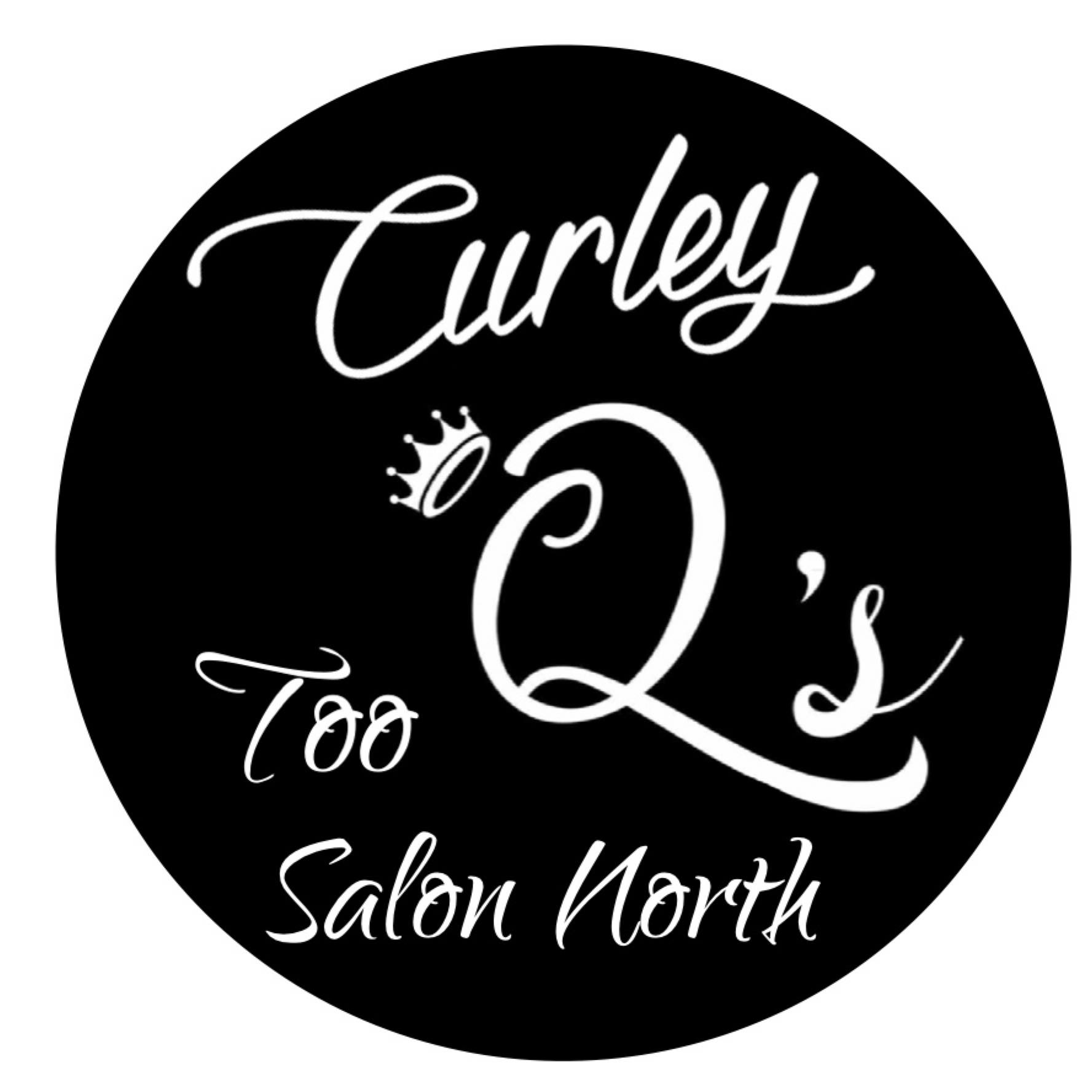 Curley Q's Salon Too Logo