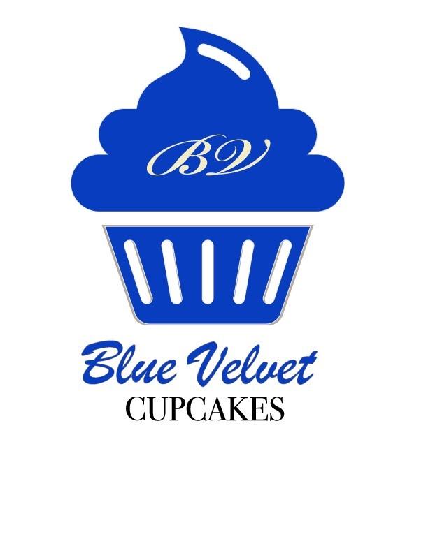 Blue Velvet Cupcakes Logo