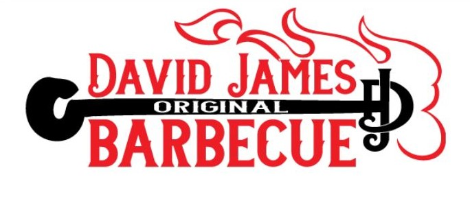 David James Original Barbecue Logo