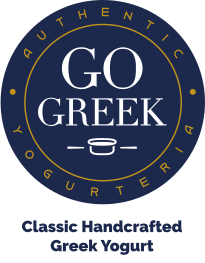 Go Greek Yogurt Logo