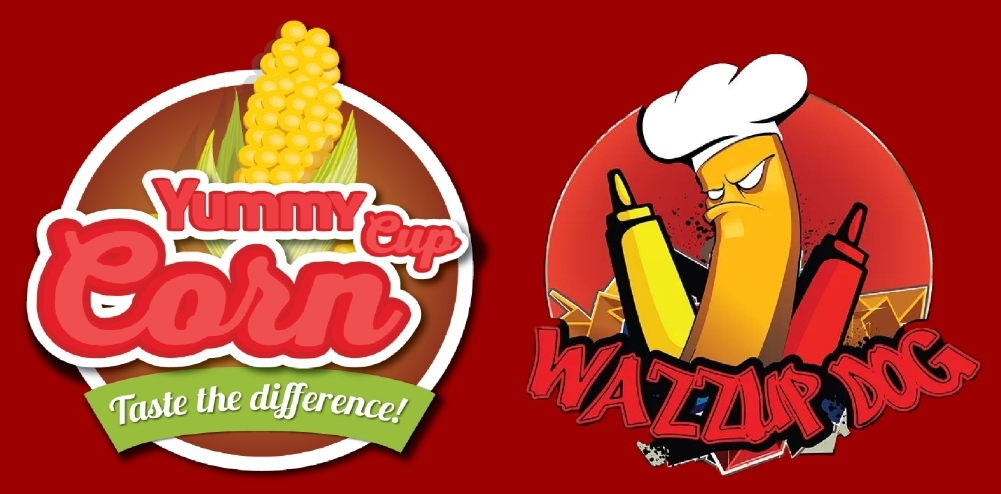 Yummy Cup Corn/Wazzup Dog                Logo