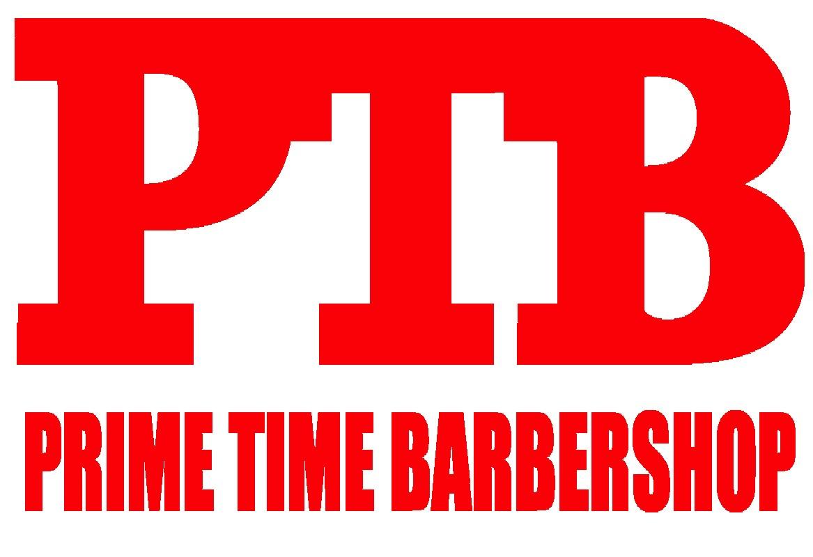 Prime Time Barber Shop                   Logo