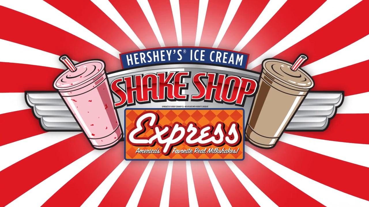 Hershey's Shake Shop Express             Logo