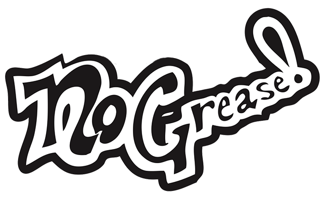 No Grease Barbershop Logo