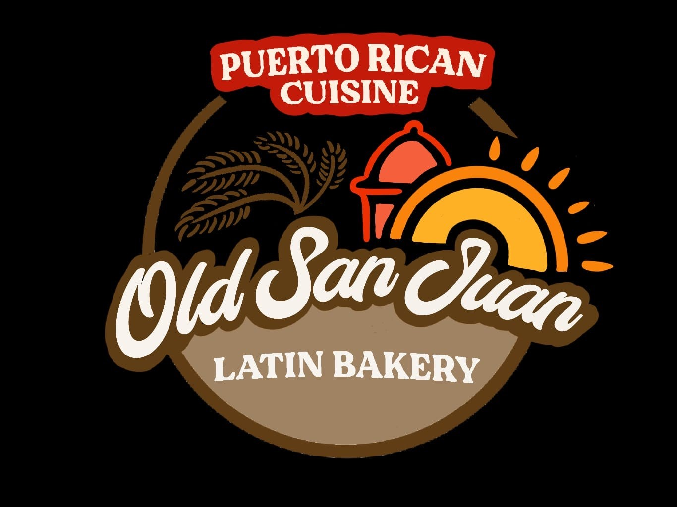 Old San Juan Latin Bakery Logo
