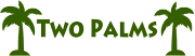 투 팜스 (Two Palms) Logo