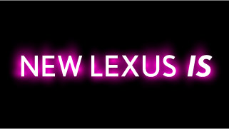 New LEXUS IS Logo