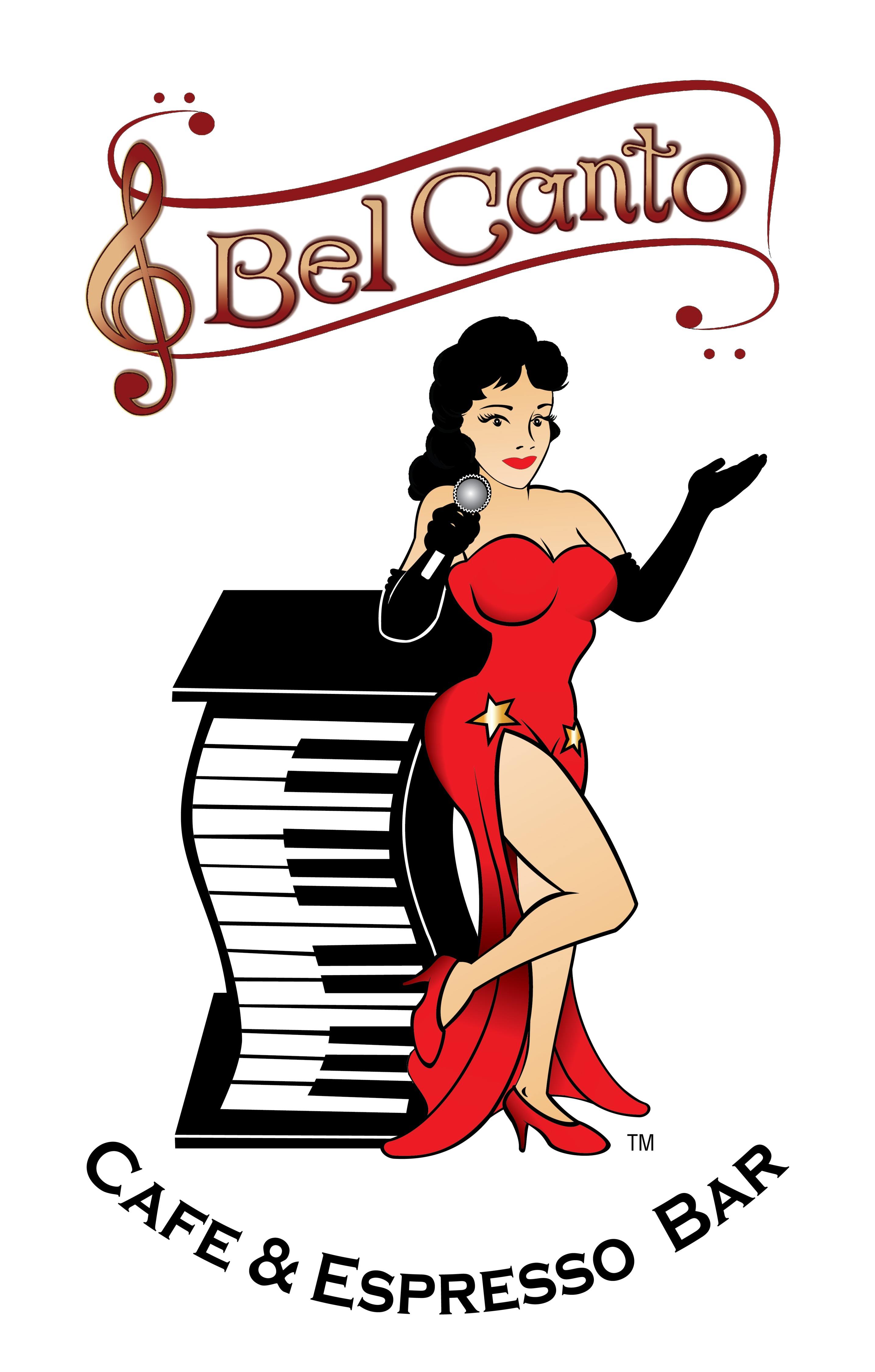 Bel Canto Café And Espresso Bar Logo