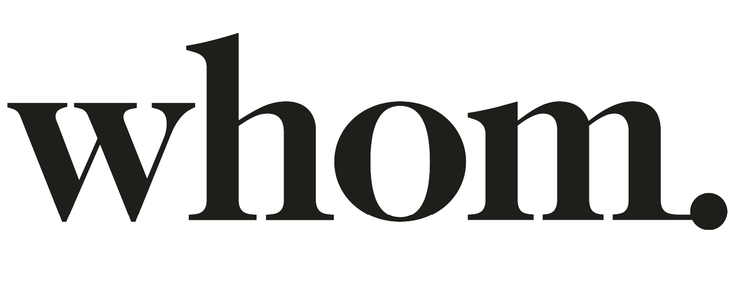 Whom Home Logo