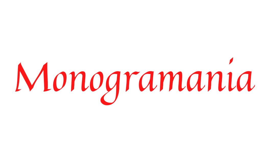 Monogramania Logo