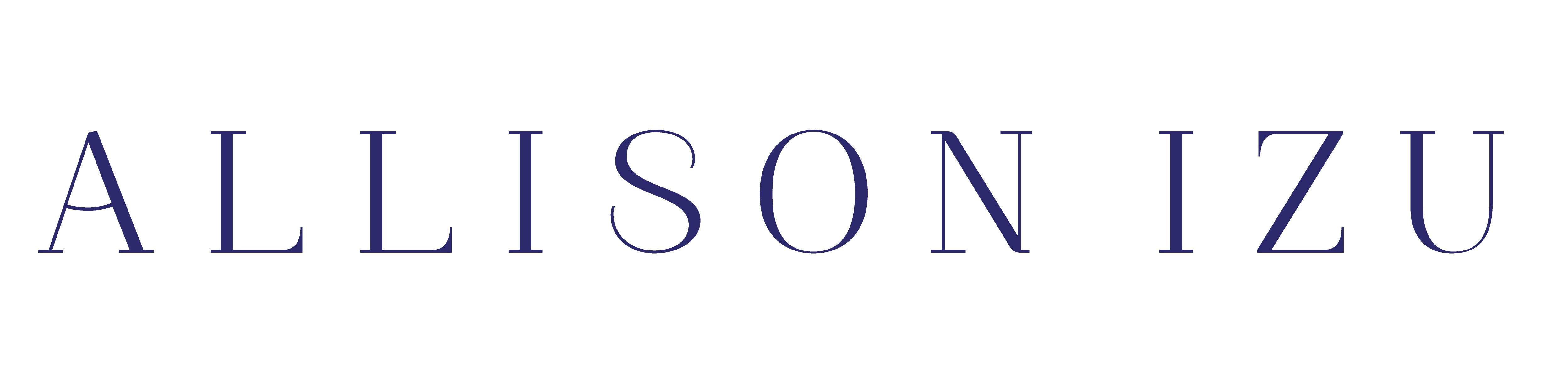 앨리슨 이즈 (Allison Izu) Logo