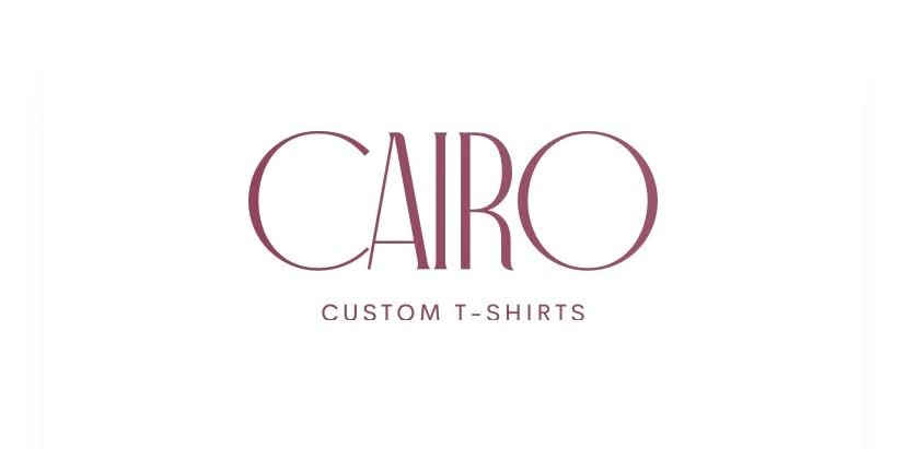 Custom By Cairo Fashion Logo
